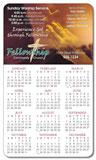 Religious Calendar Magnet 3.5x6 Round Corners - 25 mil.