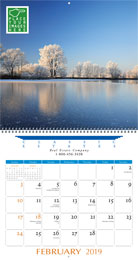 Executive Full Custom Calendar 13.5x25.5