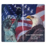 Patriotic Liberty  Pocket Planner Academic Monthly