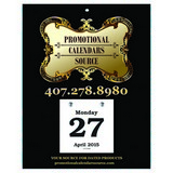 Daily Date Promotional Calendar Large 33 7x9 in