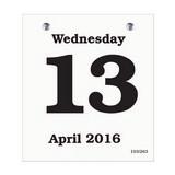 Daily Date Calendar Refill 45
