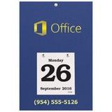 Daily Date Calendar Foil Stamped 44
