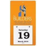 Daily Date Value Calendar Medium Size 4.25x7 -