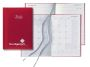 Castelli Weekly/Monthly Tabbed Planner, Matra, Color Red, Item CT-77407