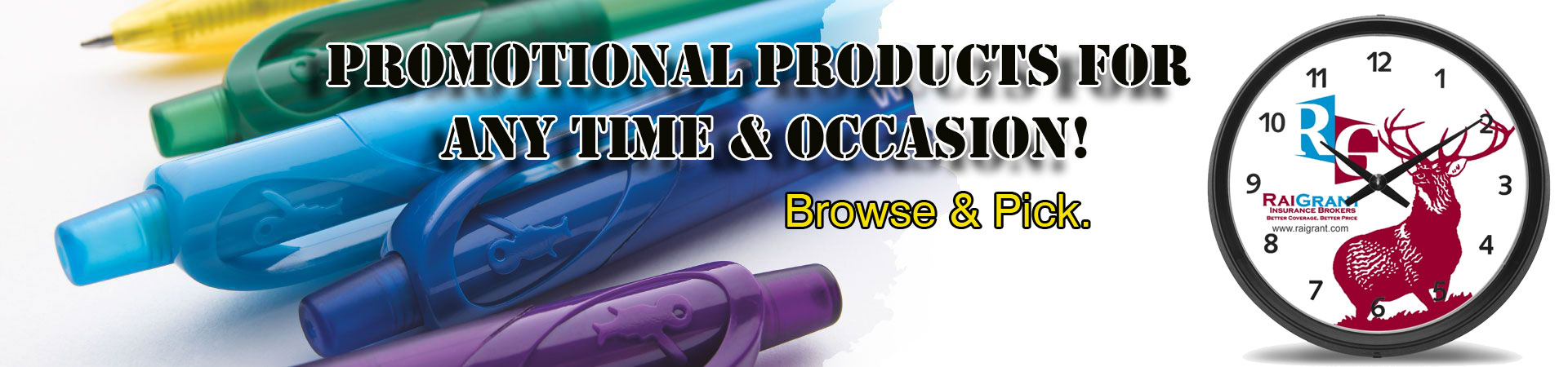 customized promotional products for all occasions