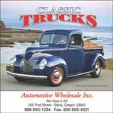 View our selection of calendars with images of trucks, rigs, 18 wheelers for your promo needs