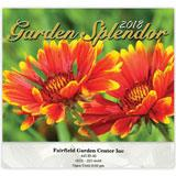 custom wall calendar printing with Flowers, Gardens, Botanical for a pleasant and colorful promotion.
