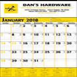 High quality calendar printing promotional commercial calendars